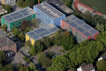Unsere Schule Luftbild